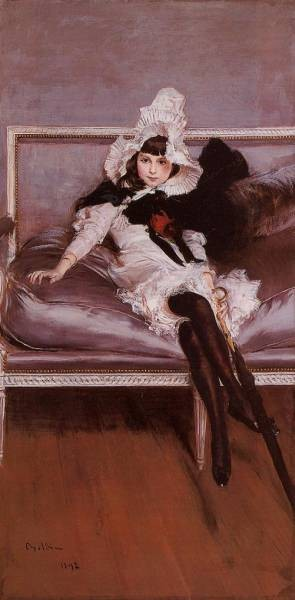 Portrait of Giovinetta Errazuriz
